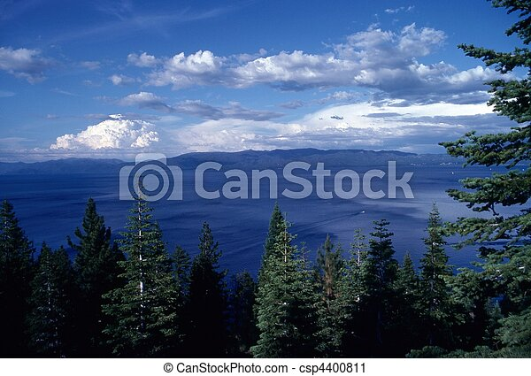Lake Tahoe, California - csp4400811
