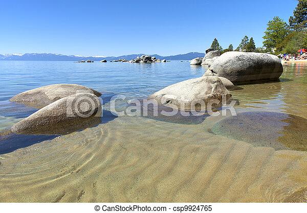 Lake Tahoe, California. - csp9924765