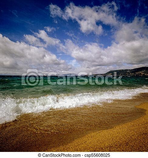 Lake Tahoe, California - csp55608025