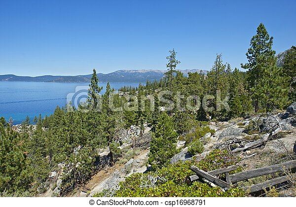 Lake Tahoe California - csp16968791