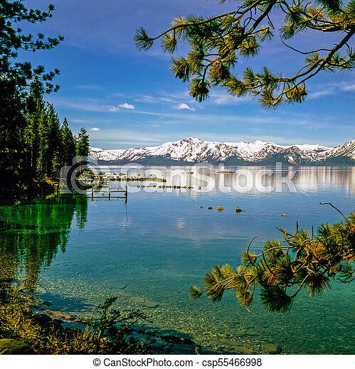 Lake Tahoe, California - csp55466998