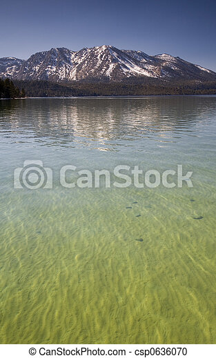 Lake Tahoe California - csp0636070