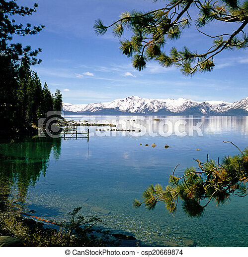 Lake Tahoe - csp20669874