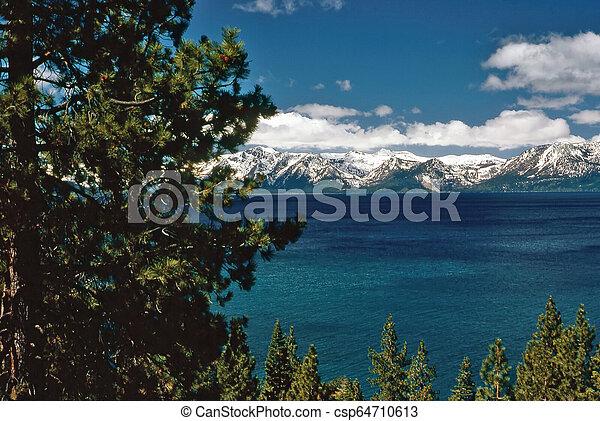 Lake Tahoe - csp64710613