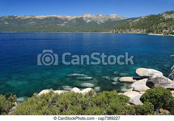 Lake Tahoe - csp7389227