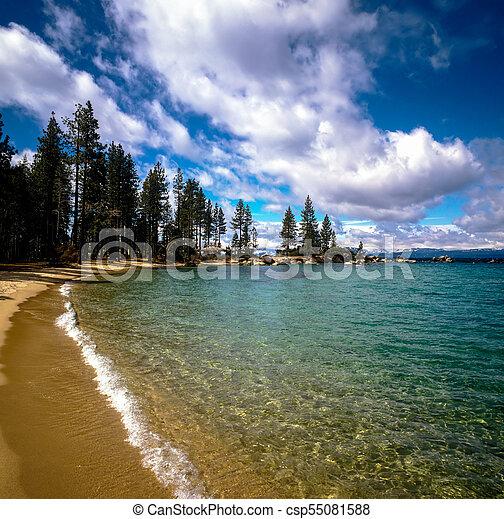 Lake Tahoe - csp55081588