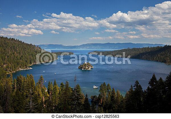 Lake Tahoe - csp12825563