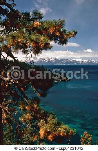 Lake Tahoe - csp64231042