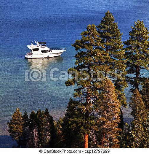 Lake Tahoe - csp12797699