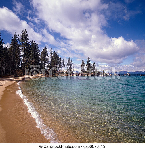 Lake Tahoe - csp6076419