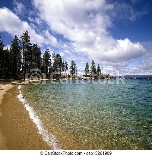 Lake Tahoe - csp15261909