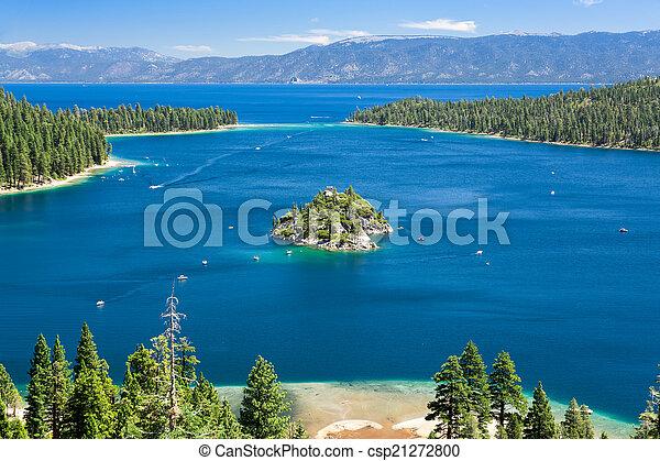 Lake Tahoe - csp21272800