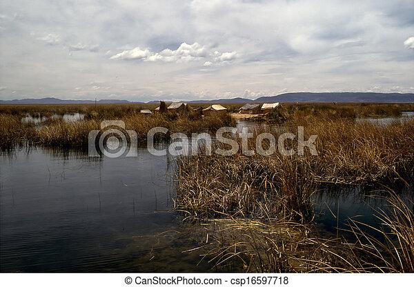 Lake Titicaca - csp16597718
