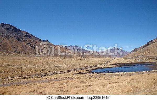 Lake Titicaca - csp23951615