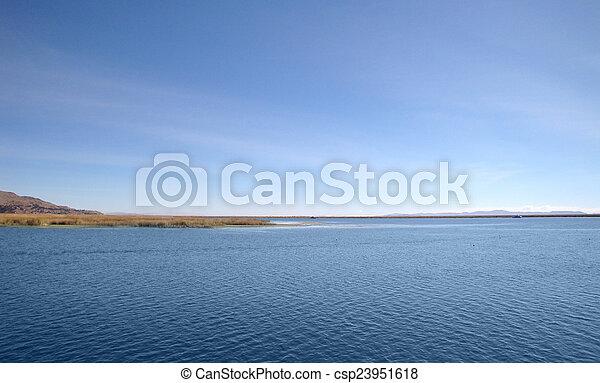Lake Titicaca - csp23951618