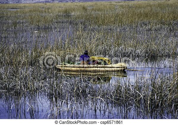Lake Titicaca - csp6571861