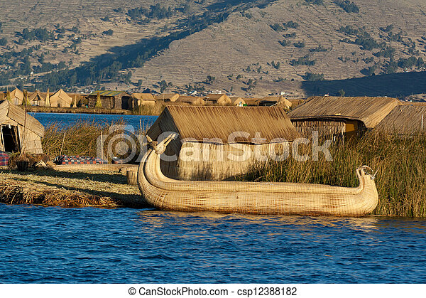 Lake Titicaca - csp12388182