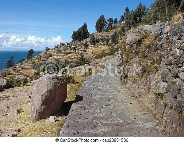 Lake Titicaca - csp23951586
