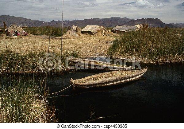 Lake Titicaca - csp4430385
