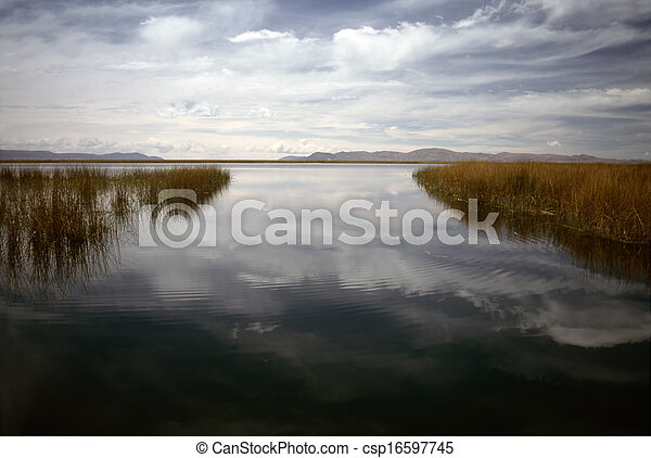 Lake Titicaca - csp16597745