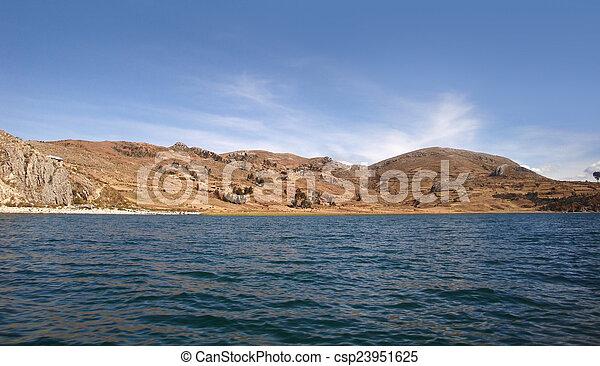 Lake Titicaca - csp23951625