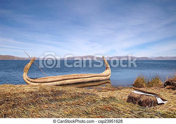Lake Titicaca - csp23951628