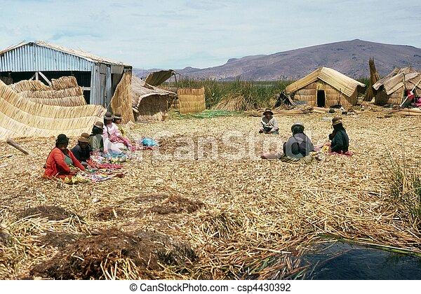 Lake Titicaca - csp4430392