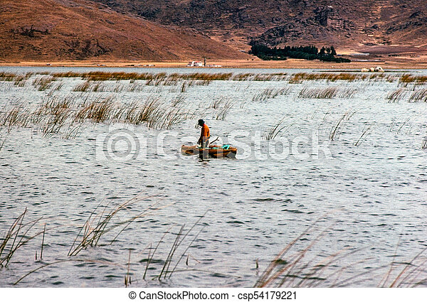Lake Titicaca - csp54179221