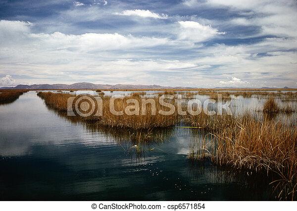 Lake Titicaca - csp6571854