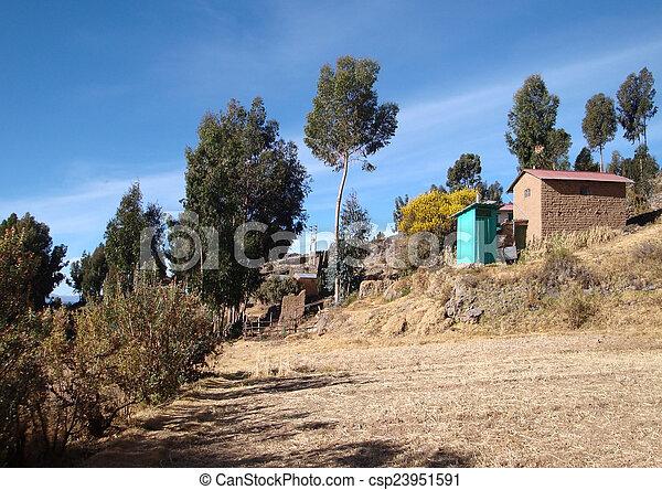Lake Titicaca - csp23951591