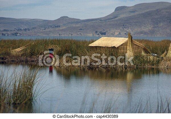 Lake Titicaca - csp4430389