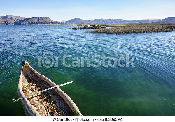Lake Titicaca - csp46309592