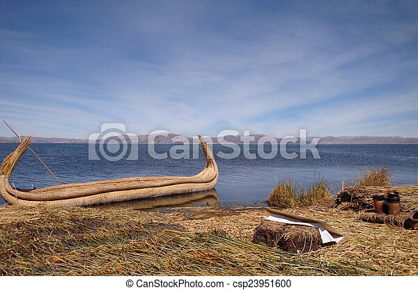 Lake Titicaca - csp23951600