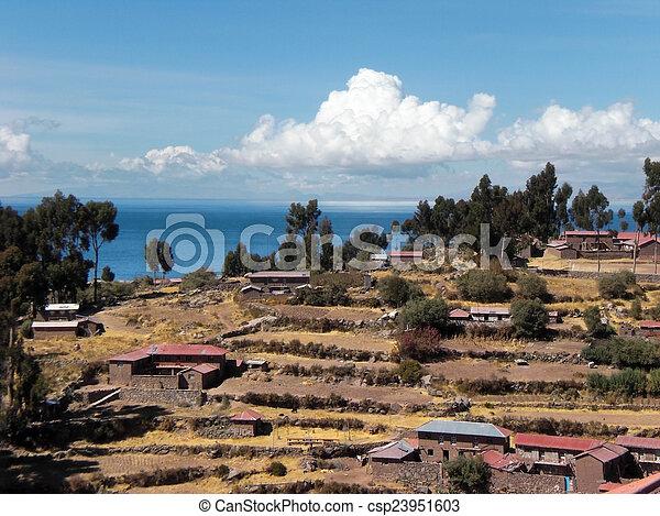 Lake Titicaca - csp23951603