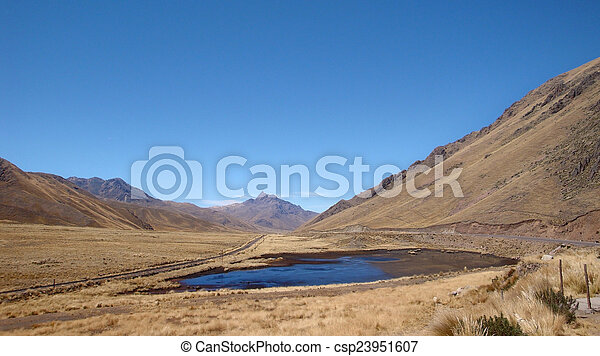 Lake Titicaca - csp23951607