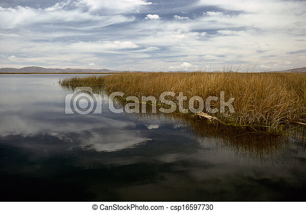 Lake Titicaca - csp16597730