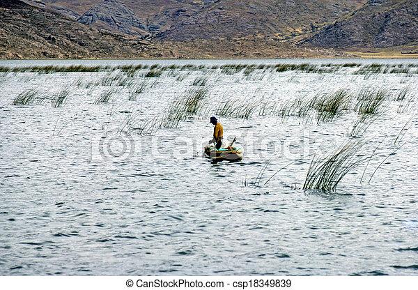 Lake Titicaca - csp18349839
