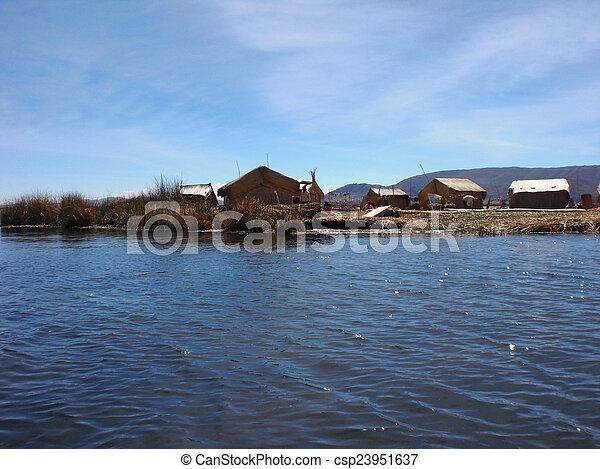 Lake Titicaca - csp23951637
