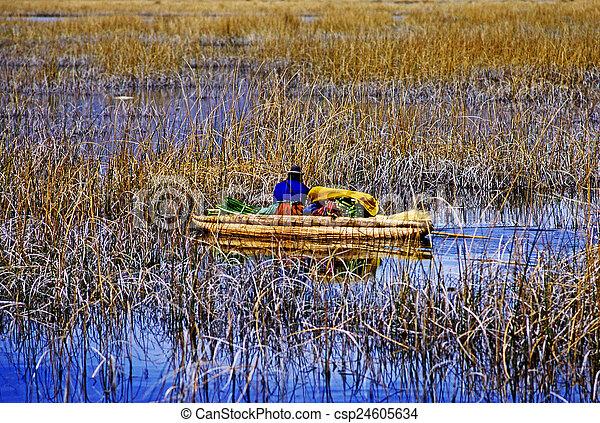 Lake Titicaca - csp24605634