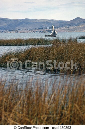 Lake Titicaca - csp4430393
