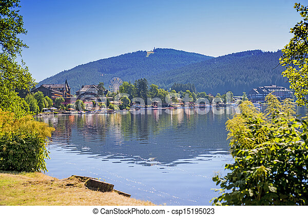 Lake Titisee Black Forest Germany Canstock
