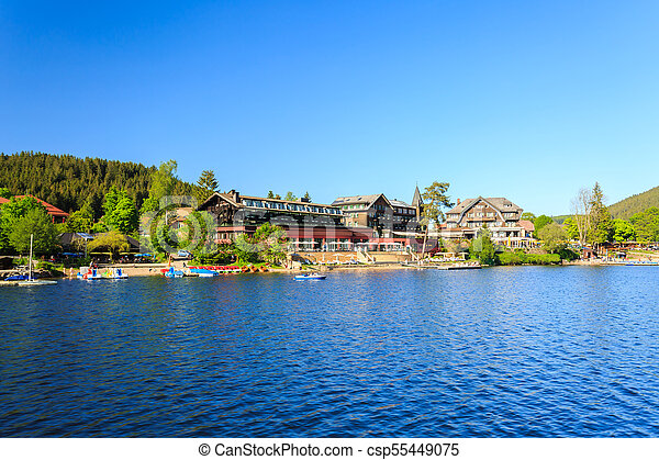 Lake Titisee Neustadt In The Black Forest Germany Canstock