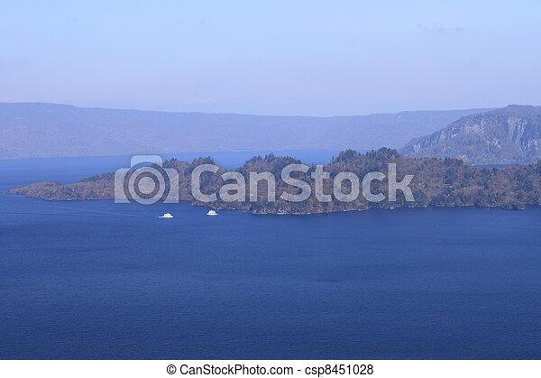 Lake Towada in Aomori, Japan - csp8451028