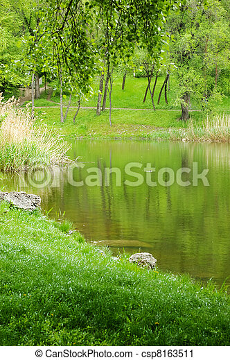 Lake view - csp8163511