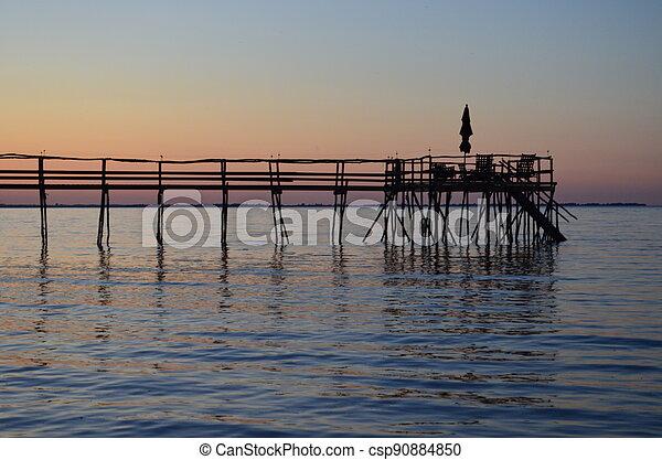 Lake Winnipeg Pier - csp90884850