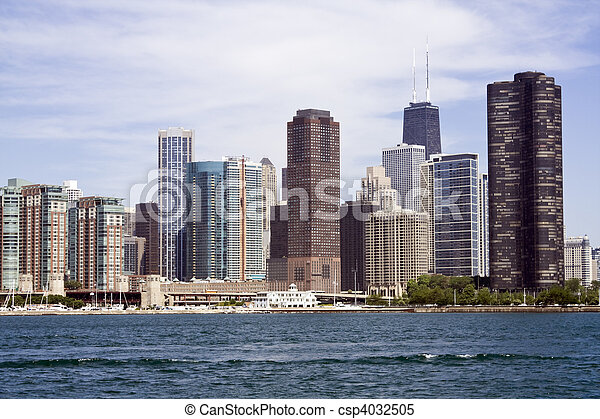 Lakefront architecture - csp4032505