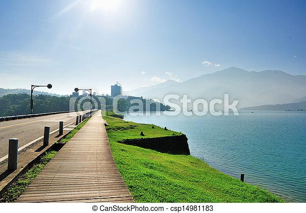 lakeside, sentier - csp14981183