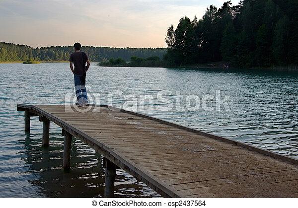 lakeside, silence - csp2437564
