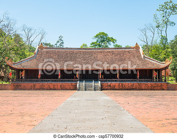 Lam Kinh temple in Thanh Hoa, Vietnam - csp57700932