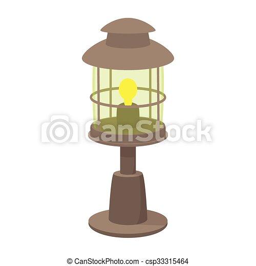 Lamp cartoon icon - csp33315464